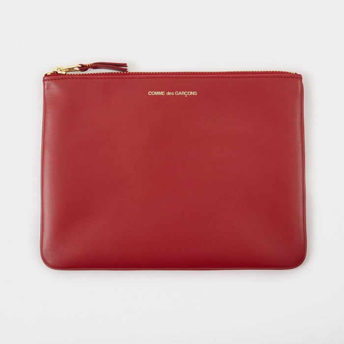 Comme des Garcons Wallets Comme Des Garcons Wallet Classic Leather W (SA5100) - Red (Image 1)