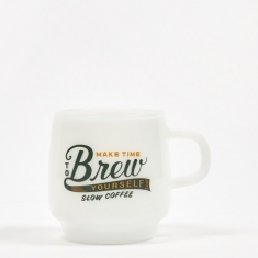 Kinto SCS Sign Paint Mug 340ml - Brew