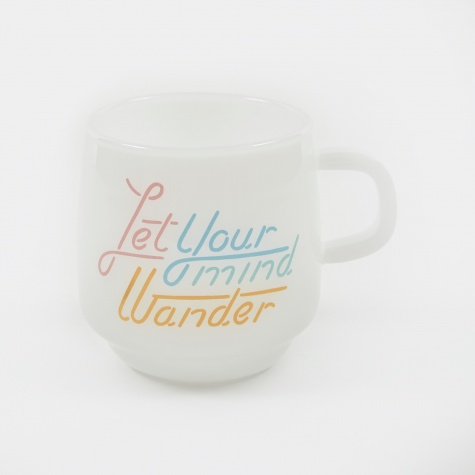 SCS Sign Paint Mug 340ml - Wander