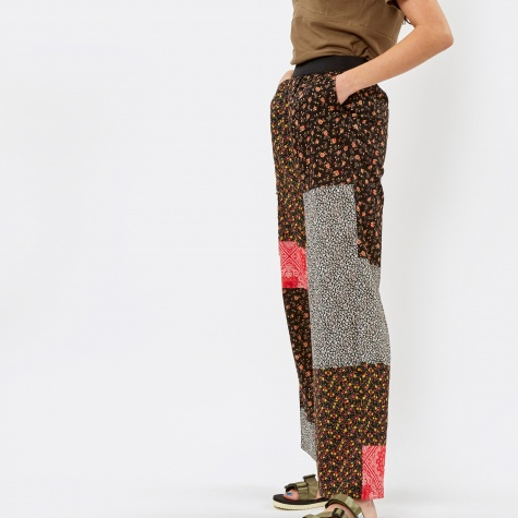 PAM Perks & Mini Collective Patch Trousers - Red Mix