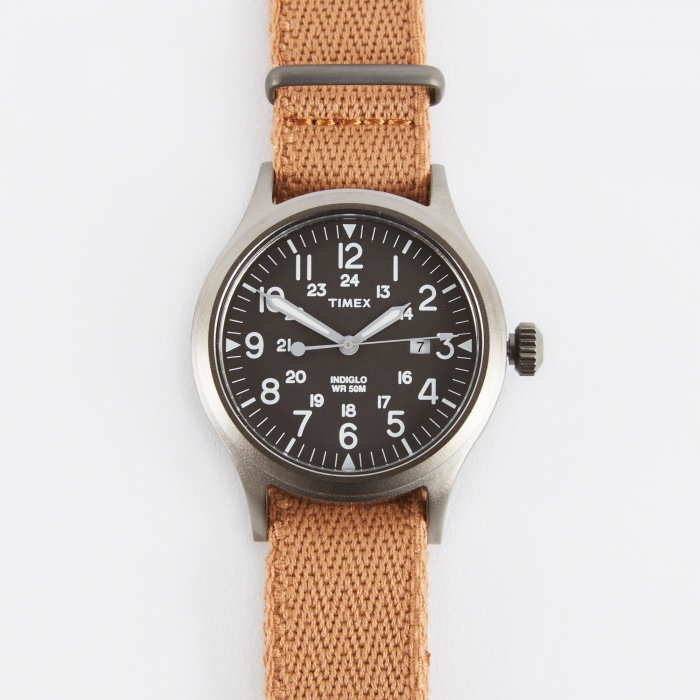Timex Archive Scout Brook Watch - Titan/Black (Image 1)