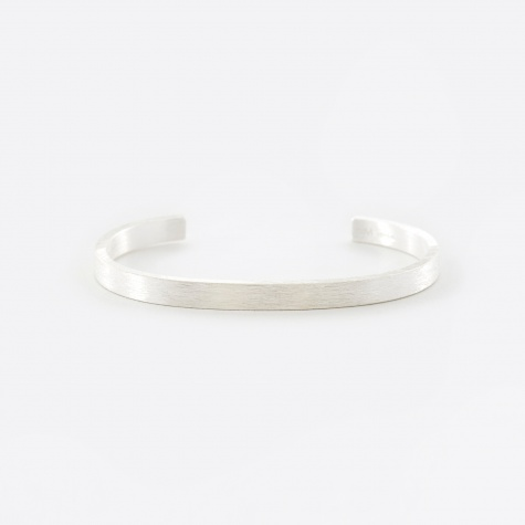 Rectangle Bracelet - Brushed Silver