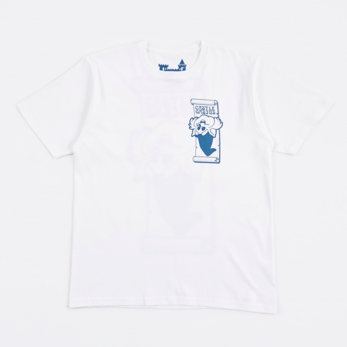 Gasius Castle Gasius x BEAMS T Wizzy Cat T-Shirt - White (Image 1)