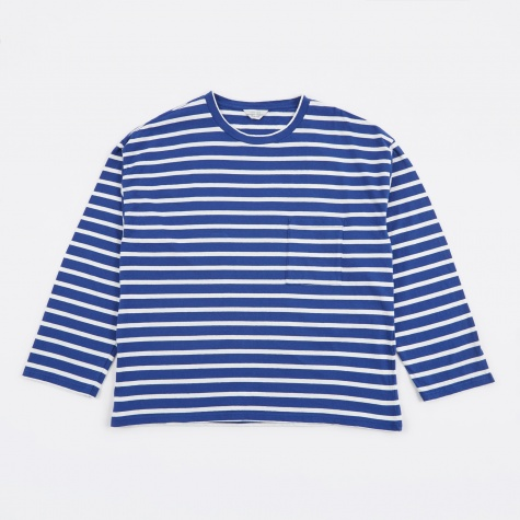 Striped Top - Blue/White