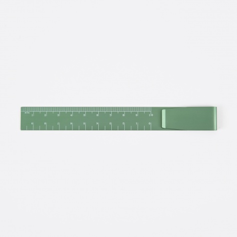 Clip Ruler - Green