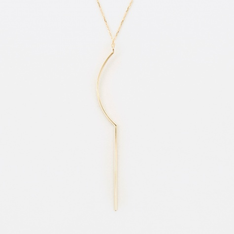 Sol Necklace - 14K Yellow Gold
