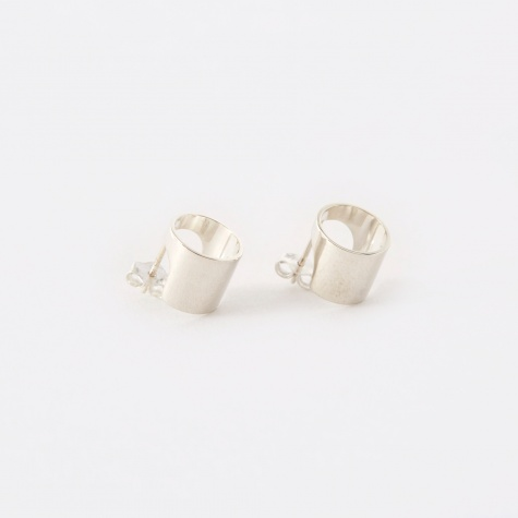 Optical Earrings - Sterling Silver