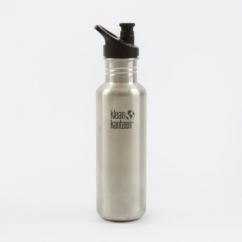 Classic Sport Cap 800ml - Brush Stainless
