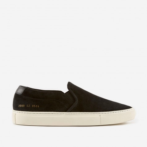 Slip-On Retro Low Suede - Black