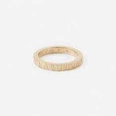 Tom Wood Medium Structure Ring - 9K Gold