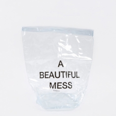 Nomess PVC Laundry Bag - Clear