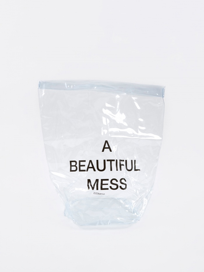 Nomess PVC Laundry Bag - Clear (Image 1)
