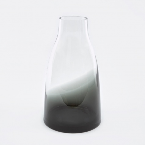 Flower Vase No.3 - Smoked Grey