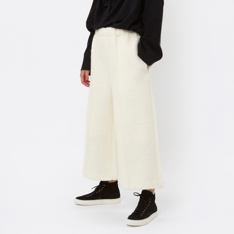 MM6 Wool Pant - White