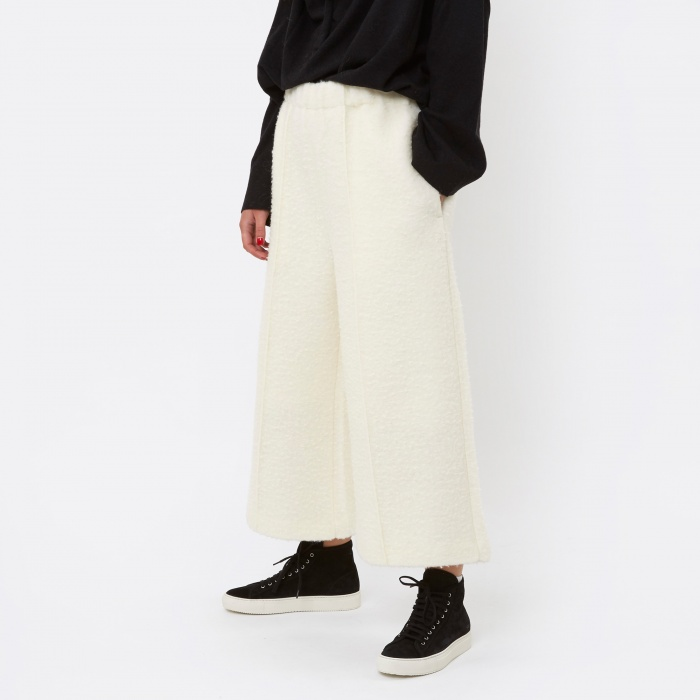 MM6 Maison Margiela MM6 Wool Pant - White (Image 1)