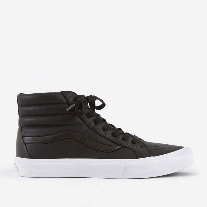 Vans Vault Sk8-Hi Reissue ST LX - Black Premium Leather (Image 1)