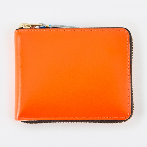 Comme Des Garcons Wallet Super Fluo XS (SA7100SF) - Orange