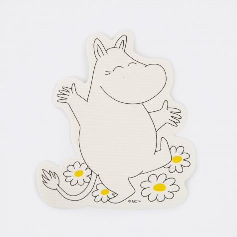 Moomin Shaped Dish Cloth