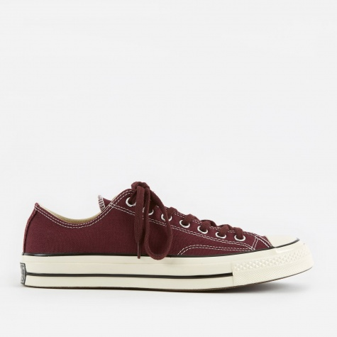 1970s Chuck Taylor All Star Ox - Dark Sangria/Dark Sang