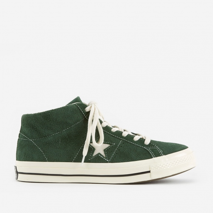 Converse One Star Mid - Shadow Fir/Egret/Egret (Image 1)