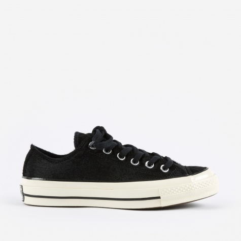 1970s Chuck Taylor All Star Ox Animal - Black/Black/Egr