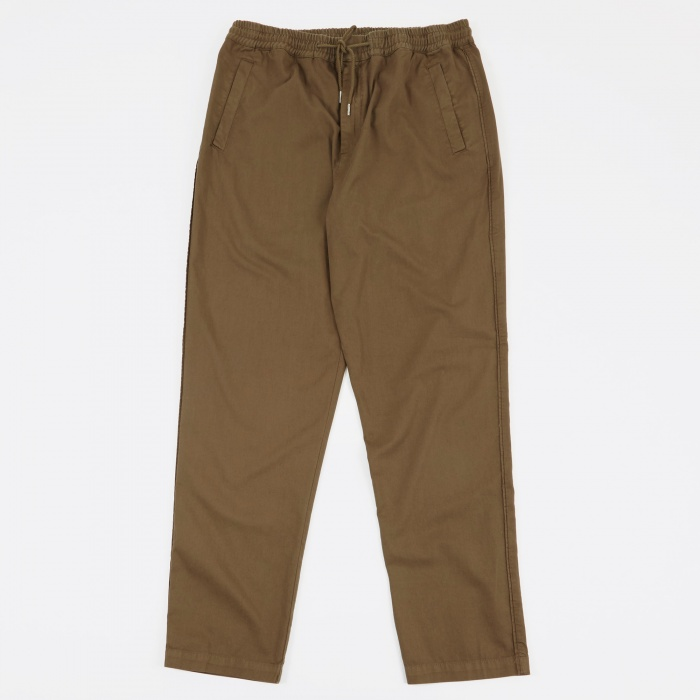 Folk Drawcord Trousers - Khaki (Image 1)