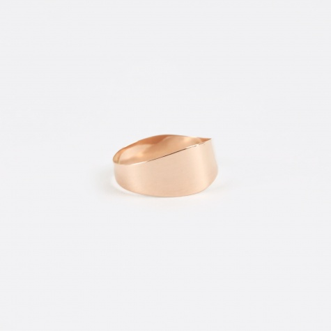 Irregular Band Ring - Rose Gold