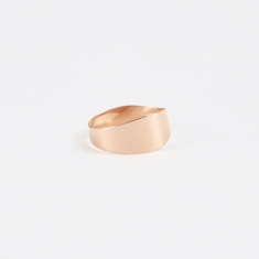 Sansoeurs Irregular Band Ring - Rose Gold