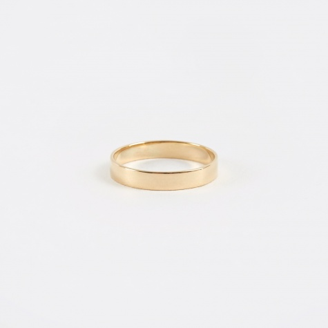 Band Ring - Yellow Gold