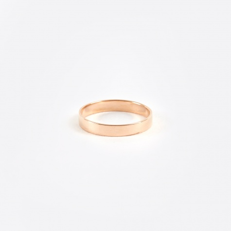 Band Ring - Rose Gold