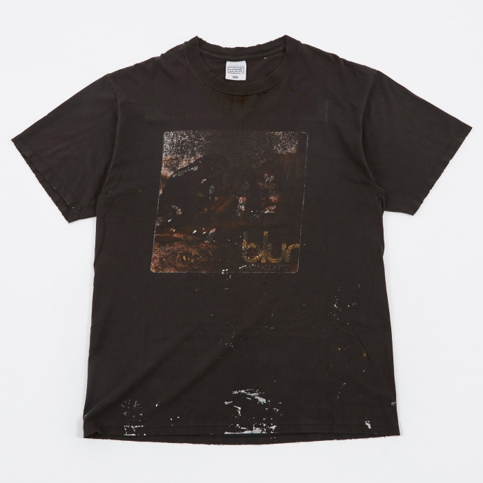 Goodhood x Teejerker Blur 1994 Parklife North America Tour T-Shirt - Black (Image 1)