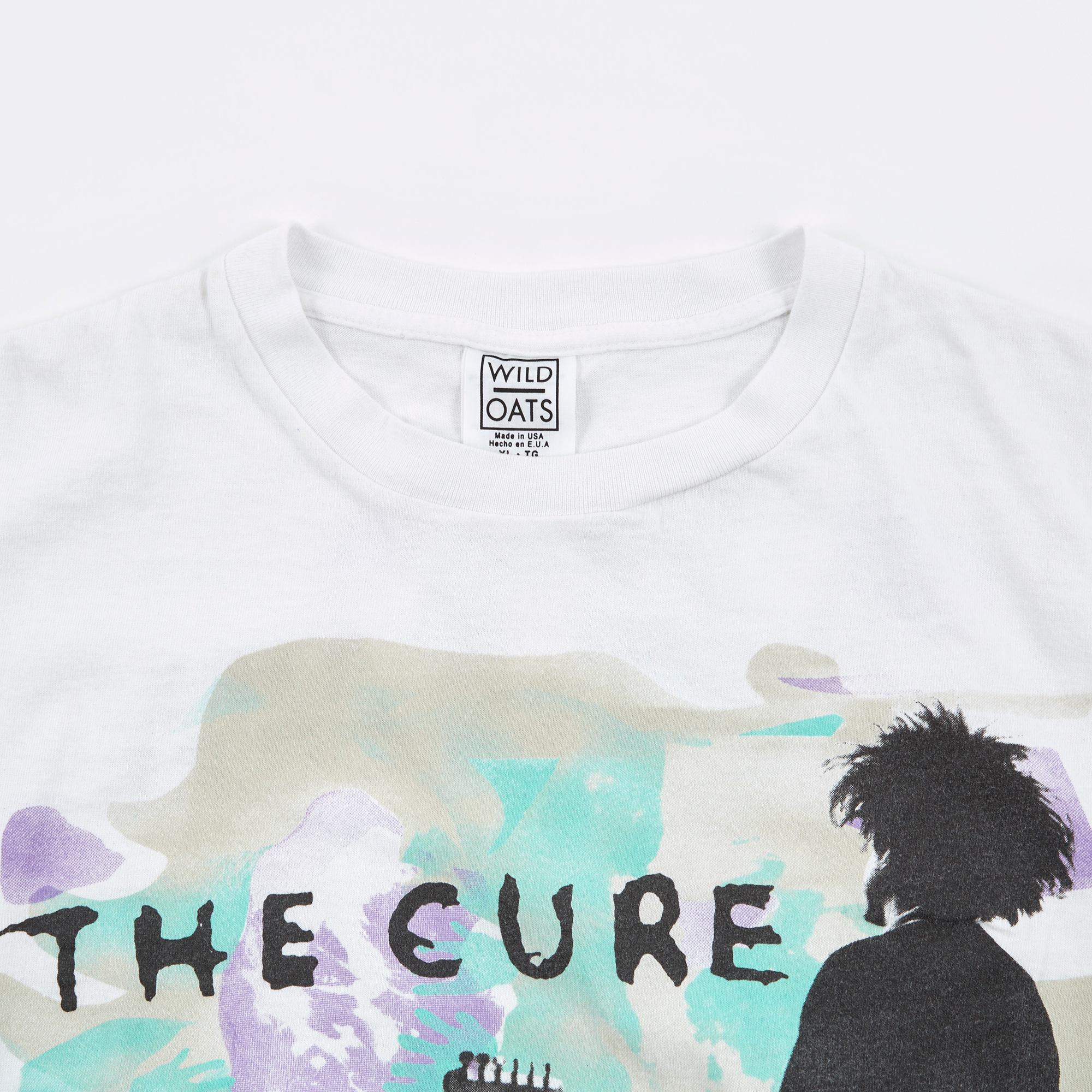 c140888b3 The Cure 1986 Boys Don't Cry T-Shirt - White