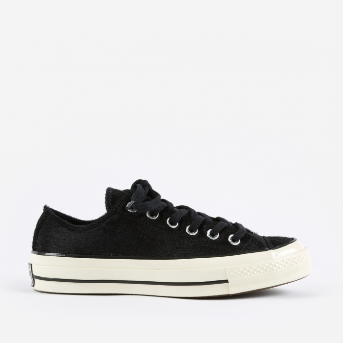 Converse 1970s Chuck Taylor All Star Ox - Black/Black/Egret (Image 1)