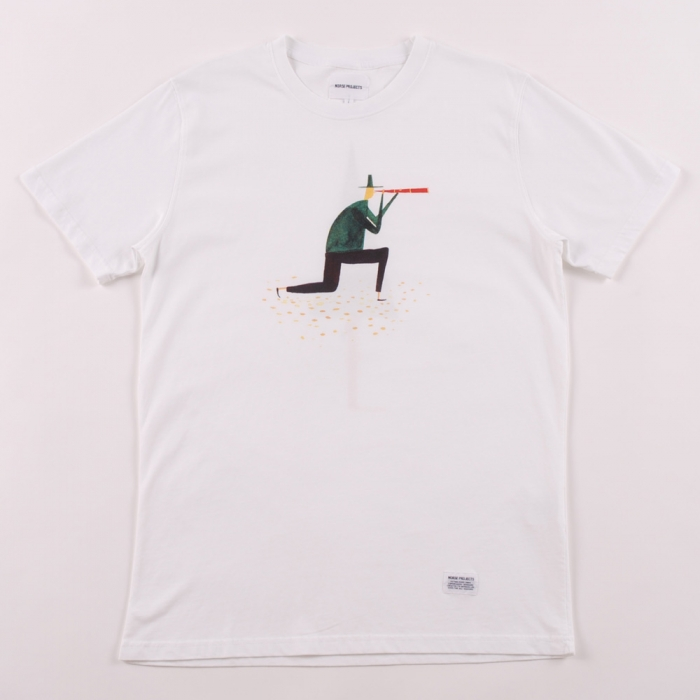 Norse Projects Daniel Frost 1 T Shirt - White (Image 1)
