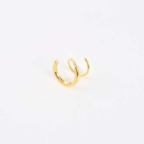Dogma Twirl Earring - 14K Gold Plated