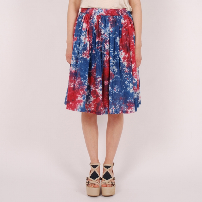 Perks & Mini PAM Mixed Skirt - Blue Red (Image 1)