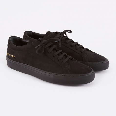Original Achilles Low Nubuck - Black