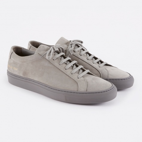Original Achilles Low Nubuck - Grey