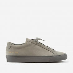 Common Projects Original Achilles Low Nubuck - Grey