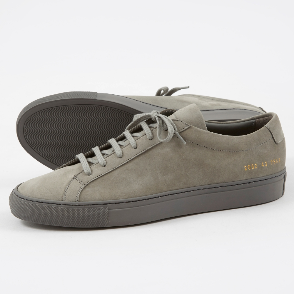 COMMON PROJECTS Nubuck Achilles sneakers 2OXlJEvq