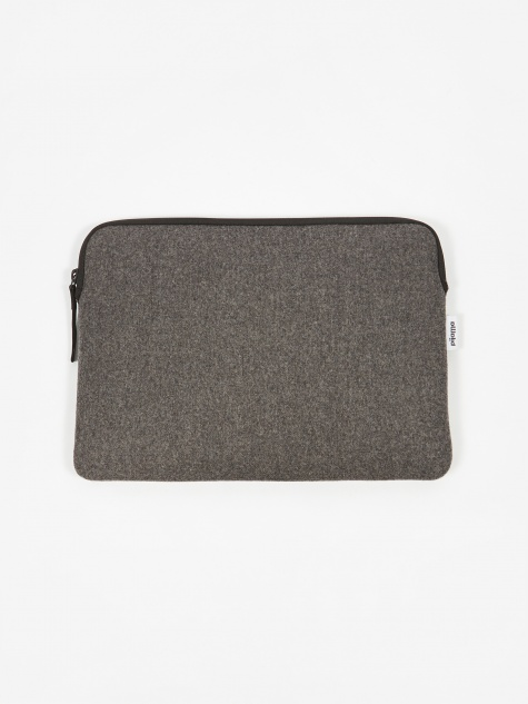 "Zip Case for Macbook 12"" & 13"" Pro - Grey Flanel"