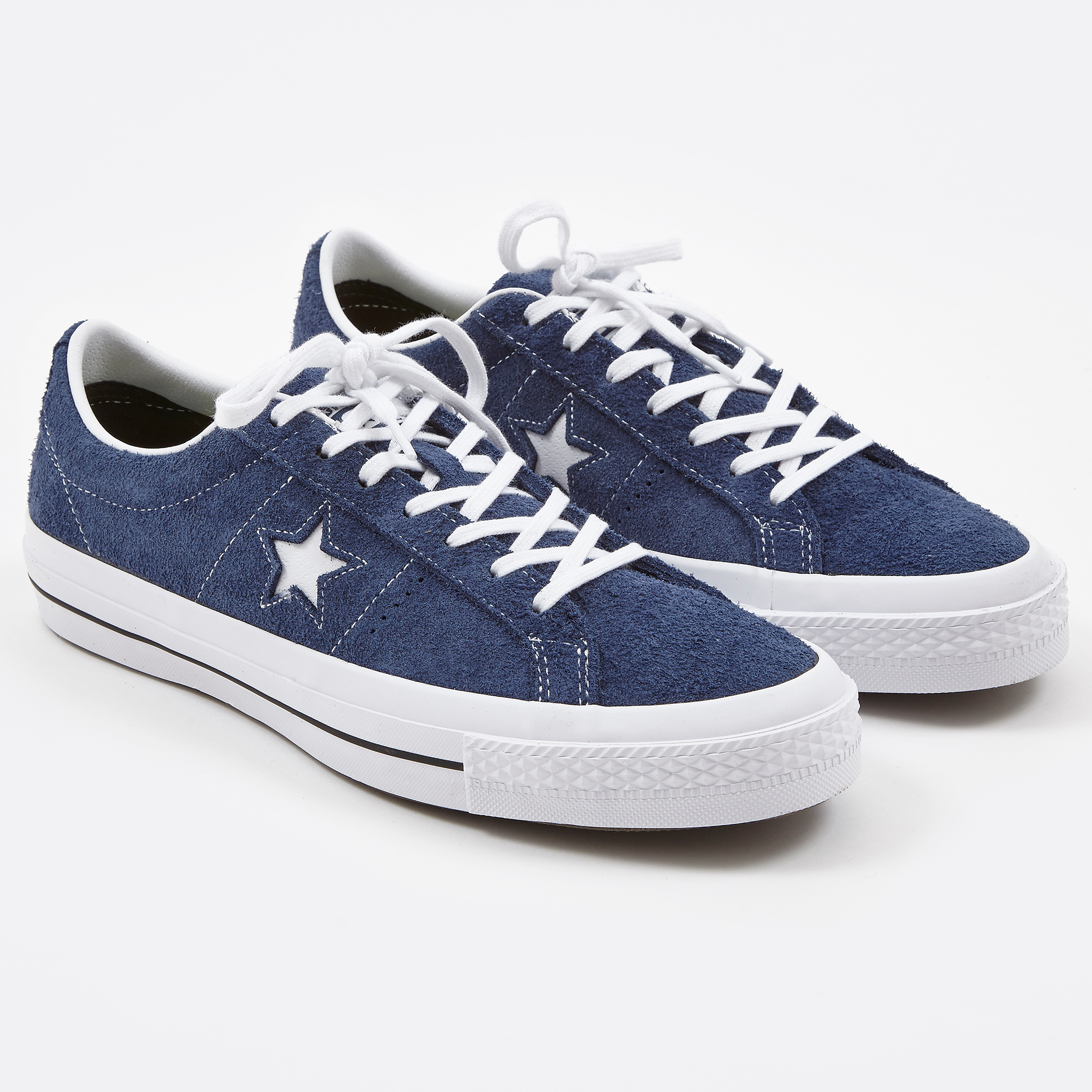 Converse for Men One Star Suede Navy Sneakers 7330185