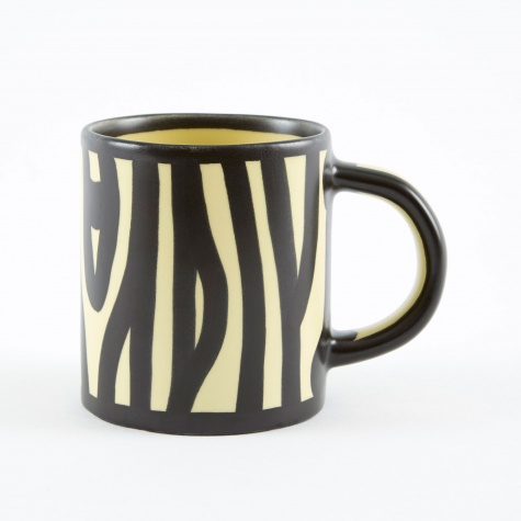 Wood Mug - Light Yellow