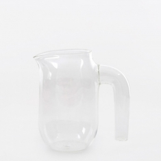 Hay Glass Jug Small - Clear