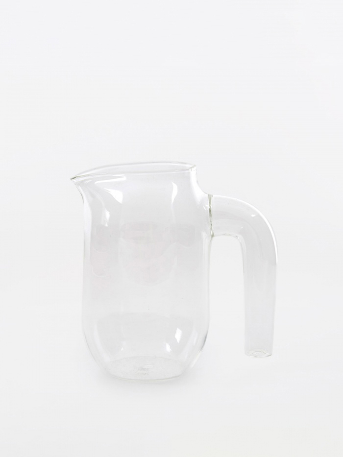 HAY Glass Jug Small - Clear (Image 1)