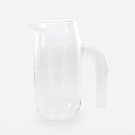 Glass Jug Large - Clear