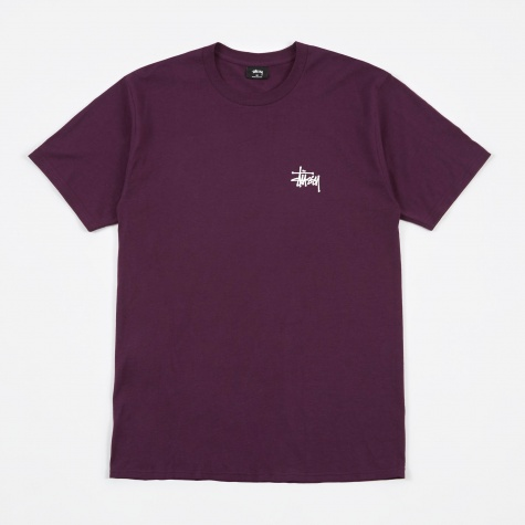 Basic Stussy T-Shirt - Grape