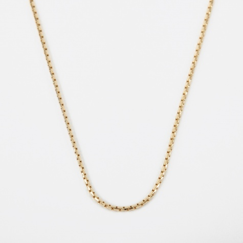 Anaconda Chain - 9k Yellow Gold