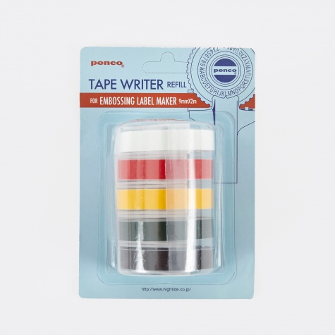 Penco Embossing Label Maker Refill - Set Of 5