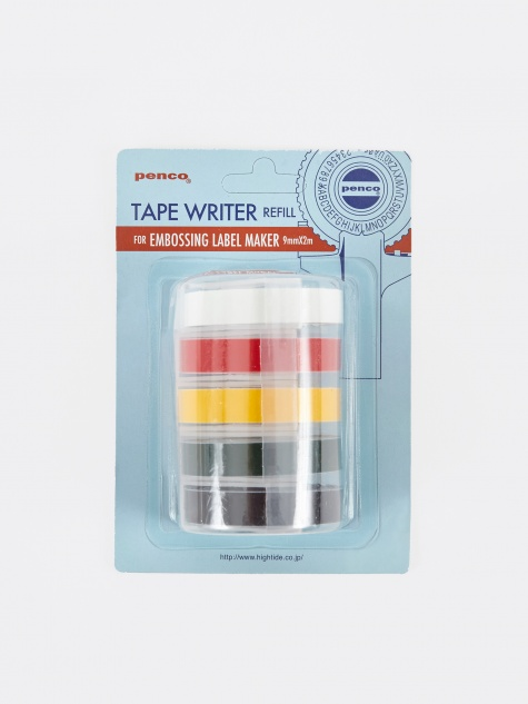 Hightide Penco Embossing Label Maker Refill - Set Of 5